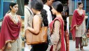 PICS of Jahnvi kapoor Leaked from the set of 'Dhadak', see photos