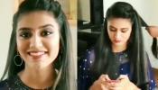 प्रिया प्रकाश ने फिर से किया इशारा, सामने आया उनका मेकअप वाला VIDEO