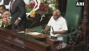कर्नाटक: वोटिंग से ठीक पहले बीजेपी ने वापस लिया नाम, कांग्रेस के रमेश कुमार बन गए स्पीकर