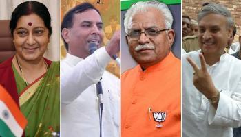 हरियाणा में बीजेपी की सरकार बननी तय, लेकिन किसके सिर सजेगा मुख्यमंत्री पद का ताज?