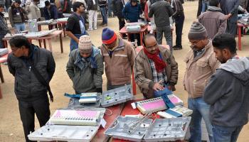 जम्मू-कश्मीर और झारखंड विधानसभा चुनाव: मतों की गिनती आज, चुनाव परिणाम पर टिकीं सभी की नजरें