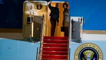 'एयर फोर्स वन' में सवार होकर अमेरिकी राष्ट्रपति ओबामा भारत के लिए रवाना, आज सुबह 10.00 बजे पहुंचेंगे दिल्ली