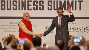 मोदी-ओबामा ने भारत-अमेरिका कारोबारी रिश्ते को नई ऊंचाई पर ले जाने का लिया संकल्प