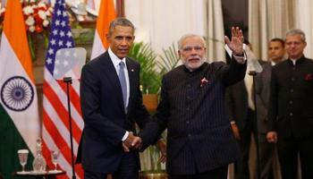बराक ओबामा ने पूरी की तीन दिन की यात्रा, बोले-US का `सर्वश्रेष्ठ साझेदार` बन सकता है भारत