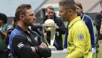 आईसीसी क्रिकेट विश्व कप 2015 फाइनल मुकाबला: ऑस्ट्रेलिया vs न्यूजीलैंड LIVE