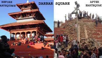 नेपाल में भूकंप : मृतकों की संख्या 2,100 के पार, ताजा झटके से बाधित हुआ `ऑपरेशन मैत्री` अभियान