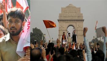 JNU में भारत विरोधी नारेबाजी, 3 दिन की पुलिस हिरासत में भेजे गए छात्रसंघ अध्यक्ष कन्हैया