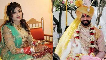 रवींद्र जडेजा और रीवा सोलंकी की शादी की तस्वीरें