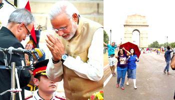 मोदी सरकार के 2 साल : इंडिया गेट पर मेगा शो, 'जरा मुस्कुरा दो' का आगाज, पीएम करेंगे समापन