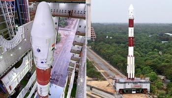 तस्वीरों में- इसरो ने श्रीहरिकोटा से एक साथ 20 सैटेलाइट्स का किया प्रक्षेपण।