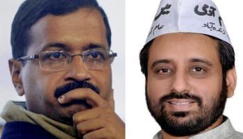 दिल्ली के सीएम केजरीवाल को एक और झटका, AAP विधायक अमानतुल्ला खान गिरफ्तार