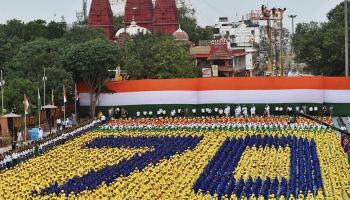 तस्वीरों में- 70वें स्वतंत्रता दिवस पर पीएम नरेंद्र मोदी का राष्ट्र को संबोधन