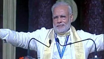 PM मोदी ने कहा- `मुस्लिमों को अपना समझें, उन्हें वोटबैंक के रूप में न देखें `
