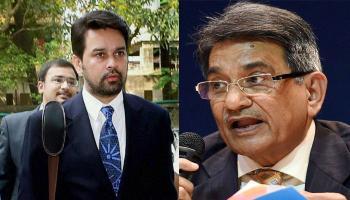 BCCI को सुप्रीम कोर्ट की फटकार; लोढ़ा पैनल की मांग, अनुराग ठाकुर को बीसीसीआई अध्यक्ष पद से हटाया जाए