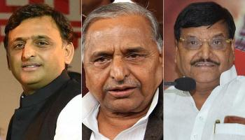 समाजवादी पार्टी में `गृह युद्ध` : अखिलेश ने शिवपाल को कैबिनेट से किया बाहर, मुलायम ने रामगोपाल को पार्टी से निकाला