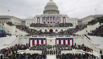 डोनाल्ड ट्रंप ने अमेरिका के 45वें राष्ट्रपति के तौर पर ली शपथ