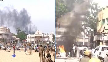 तमिलनाडु विधानसभा में सर्वसम्मति से पारित हुआ जल्लीकट्टू पर विधेयक, हिंसक प्रदर्शन जारी