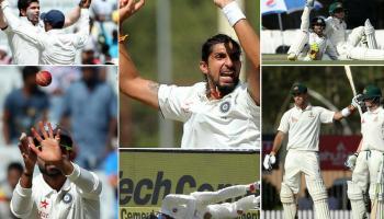 IND VS AUS : तस्वीरों में रांची टेस्ट का पहला दिन