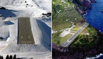 बेहद खतरनाक लैंडिंग वाले दुनिया के हवाईअड्डे