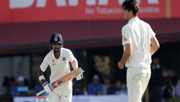 धर्मशाला टेस्ट LIVE : सीरीज जीतने से चंद कदम दूर टीम इंडिया