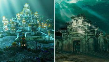 पानी के नीचे मिले ये अद्भुत शहर- देखें तस्वीरें