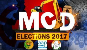 एमसीडी चुनाव : 270 सीटों पर मतदान खत्म, शाम 4 बजे तक 45 प्रतिशत हुआ मतदान