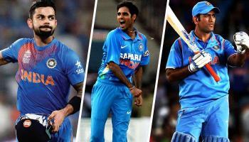 आईसीसी चैंपियंस ट्रॉफी 2017 के लिए टीम इंडिया