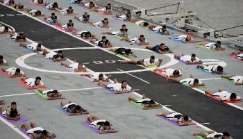अंतरराष्ट्रीय योग दिवस 2017: जब देशवासियों ने किया YOGA