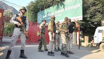श्रीनगर में मुठभेड़ खत्म, दोनों आतंकी मारे गए, थलसेना के दो जवान जख्मी