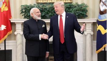LIVE अपडेट्स: PM मोदी ने कहा-भारत और अमेरिका `ग्लोबल इंजन ऑफ ग्रोथ`, ट्रंप बोले-आतंकवाद का मिलकर करेंगे खात्मा