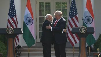 पीएम मोदी और राष्ट्रपति ट्रंप की मुलाकात