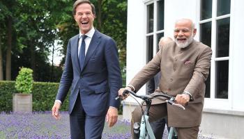 नीदरलैंड के प्रधानमंत्री मार्क रूटे ने पीएम नरेंद्र मोदी को दिया एक शानदार गिफ्ट