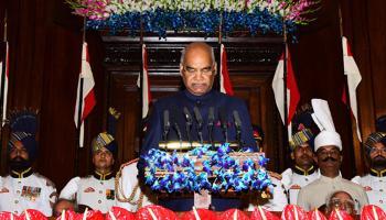 राष्ट्रपति बनने के बाद रामनाथ कोविंद का पढ़िए पहला भाषण हू-ब-हू