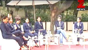 Zee News Exclusive: `क्रिकेट क्रांति` वाली बेटियों ने `खास इंटरव्यू` में खोले तमाम अनछुए पहलू- WATCH