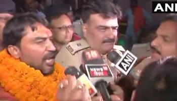 भागलपुर दंगा : केंद्रीय मंत्री के आरोपी बेटे अर्जित शाश्वत ने किया सरेंडर