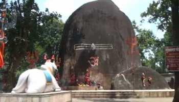 छत्तीसगढ़ः सावन सोमवार में भूतेश्वर मंदिर में उमड़ा भक्तों का मेला