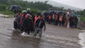 मध्य प्रदेश में उफनते नाले के बीच फंसी 70 जिंदगियां, मजदूरोंं ने इस तरह बचाया