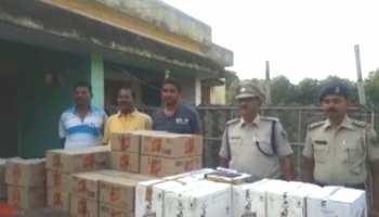पूर्णिया में शराब तस्करों के खिलाफ कार्रवाई, पुलिस ने छापेमारी में जब्त की 649 लीटर शराब