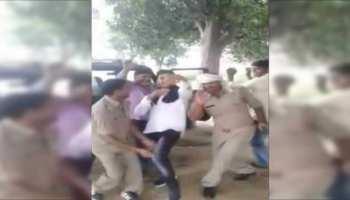 यूपी: पुलिस वालों ने पेड़ के नीचे खड़ी की PCR वैन, लगाए भोजपुरी गानों पर ठुमके, VIDEO VIRAL