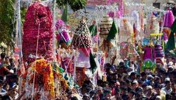 पाकिस्तान के इस मंदिर में हिंदू अपने हाथों से बनाते हैं मुहर्रम जुलूस के लिए ताजिया