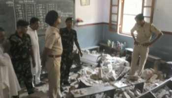 बेतिया में गिरा स्कूल का छत, एक बच्चे की मौत और कई घायल