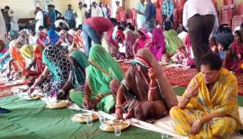 MP: यशोधरा राजे सिंधिया ने किया सफाई कर्मियों के साथ भोजन, कर्मचारियों को किया सम्मानित