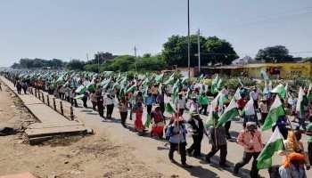 मध्य प्रदेश में चुनावी आचार संहिता लागू होने के बाद खत्म हुआ सत्याग्रह