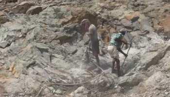 बोकारो : पत्थरों का अवैध खनन करनेवालों की चांदी, धड़ल्ले से चल रहा कारोबार