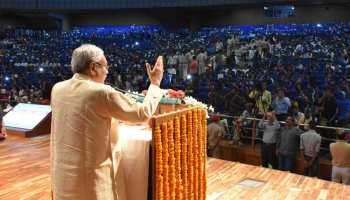 चप्पल उछाले जाने पर CM नीतीश बोले, लोग प्रचार के लिए करते हैं उटपटांग काम