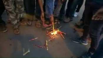 गुजरात प्रकरण को लेकर देवघर में डांडिया का विरोध, जोया खान का हुआ विरोध