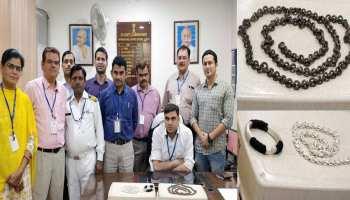 जयपुर: कस्टम विभाग ने एयरपोर्ट पर पकड़ा 2 किलो सोना, बैंकॉक से जुड़े हैं तार