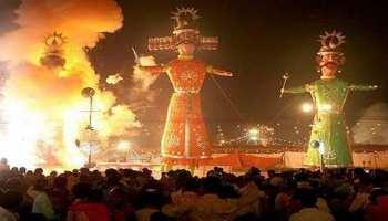 राजस्थान: अनोखा है रेनवाल का दशहरा, जहां पूरे साल चलता है रावण दहन का सिलसिला