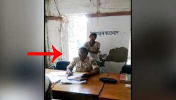 बिहार : ड्यूटी के दौरान दरोगा को मालिश करवाना पड़ा महंगा, एसपी ने किया सस्पेंड