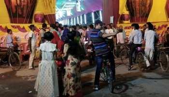 नवरात्र : पूजा पंडालों का जायजा लेने साइकिल से निकले बेगूसराय के डीएम